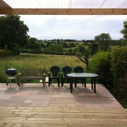 Decking, Patios and garden areas